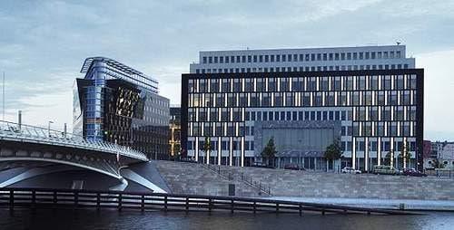 Le bâtiment du Bundeskonferenzpresse à Berlin
